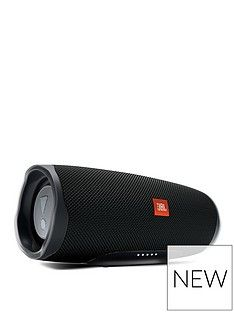 JBL Charge 4 Bluetooth Wireless Speaker - Black Best Price, Cheapest Prices