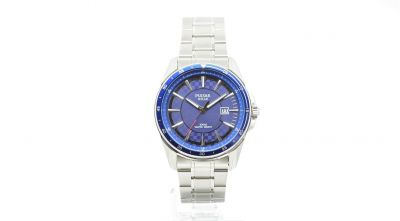Pulsar Men's Solar Chequer Stainless Steel Bracelet Watch Best Price, Cheapest Prices