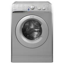 Indesit BWSC61452 6KG 1400 Spin Washing Machine - Silver Best Price, Cheapest Prices