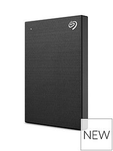Seagate Seagate 1TB Backup Plus Slim portable (Black) Best Price, Cheapest Prices