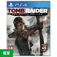 Tomb Raider: Definitive Edition PS4 Game Best Price, Cheapest Prices
