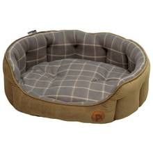Petface Check Dog Bed - Large Best Price, Cheapest Prices