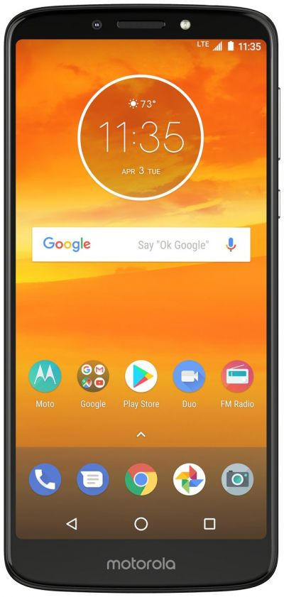 SIM Free Motorola E5 Plus 16GB Mobile Phone - Grey Best Price, Cheapest Prices