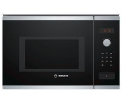 BOSCH BFL553MS0B Built-in Solo Microwave - Stainless Steel Best Price, Cheapest Prices