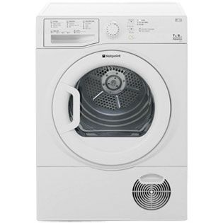 Hotpoint Aquarius TCFS73BGP 7Kg Condenser Tumble Dryer - White - B Rated Best Price, Cheapest Prices