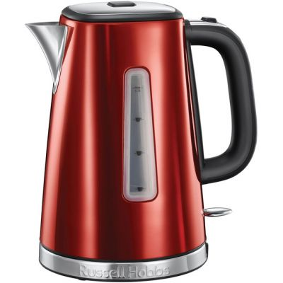 Russell Hobbs Luna Quiet Boil 23210 Kettle - Red Best Price, Cheapest Prices