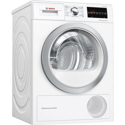 Bosch Serie 6 WTW85493GB 8Kg Heat Pump Tumble Dryer - White - A++ Rated Best Price, Cheapest Prices
