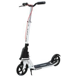 Globber One K Active with Brake Adult Scooter - White Best Price, Cheapest Prices