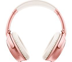 BOSE QuietComfort QC35 II Wireless Bluetooth Noise-Cancelling Headphones - Rose Gold Best Price, Cheapest Prices