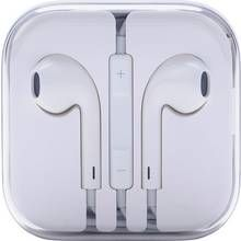 Apple Earpods with Remote and Mic - White Best Price, Cheapest Prices