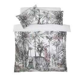 Argos Home Vintage Jungle Bedding Set - Double Best Price, Cheapest Prices
