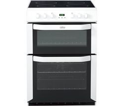 BELLING FSE60DOP 60 cm Electric Ceramic Cooker - White Best Price, Cheapest Prices