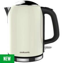 Cookworks Bullet Kettle - Cream Best Price, Cheapest Prices