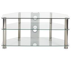 MMT Rome P5CCH1050 TV Stand - Glass Best Price, Cheapest Prices
