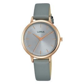 Lorus Ladies Grey Leather Strap Watch Best Price, Cheapest Prices