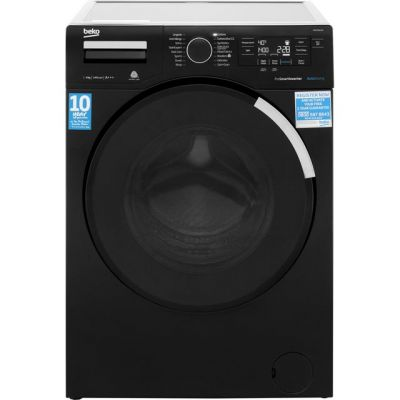 Beko WR94PB44DB 9Kg Washing Machine with 1400 rpm - Black - A+++ Rated Best Price, Cheapest Prices