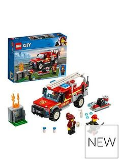 LEGO City 60231 Fire Chief Response Truck with Water Cannon Best Price, Cheapest Prices