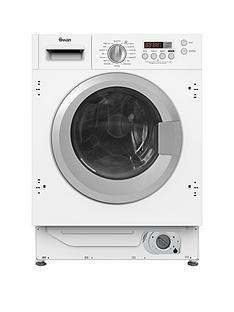 Swan SWB75120 7kgLoad, 1400 Spin Integrated Washing Machine - White Best Price, Cheapest Prices