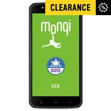 Sim Free STK Monqi Sync 5E Mobile Phone - Black Best Price, Cheapest Prices