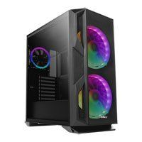 Antec NX800, Mid Tower Chassis w/ Tempered Glass Window, 2x200mm + 1x120mm ARGB Fans, ATX/M-ATX/Mini-ITX, Black Best Price, Cheapest Prices