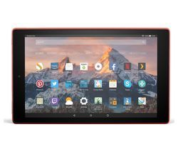 AMAZON Fire HD 10 Tablet with Alexa (2017) - 32 GB, Red Best Price, Cheapest Prices