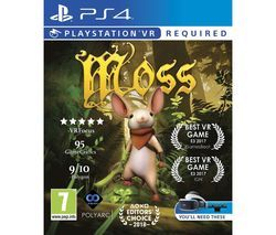 PS4 Moss PS VR Best Price, Cheapest Prices