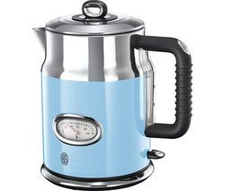 RUSSELL HOBBS Retro 21673 Jug Kettle - Blue Best Price, Cheapest Prices