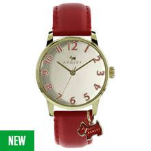 Radley Ladies' Blair RY2250 Red Leather Strap Watch Best Price, Cheapest Prices