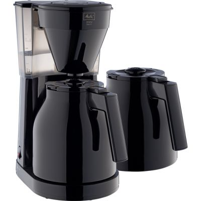 Melitta Easy Therm II 1023-06 6762893 Filter Coffee Machine - Black Best Price, Cheapest Prices
