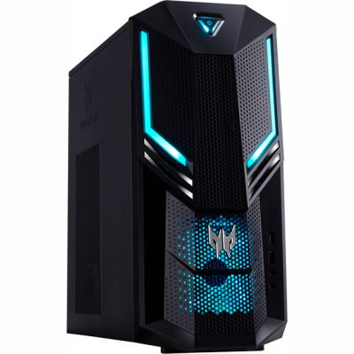 Acer Predator PO3-600 Gaming Tower - Black / Blue Best Price, Cheapest Prices
