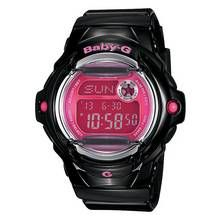 Casio Baby-G Black and Pink Telememo Watch Best Price, Cheapest Prices
