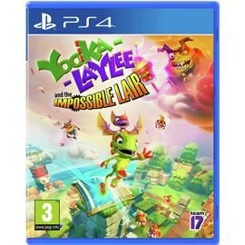 Yooka Laylee and the Impossible Lair PS4 Game Best Price, Cheapest Prices