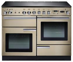 RANGEMASTER Professional+ 110 Electric Range Cooker - Cream & Chrome Best Price, Cheapest Prices