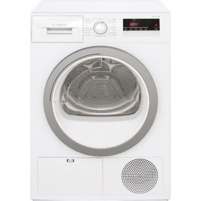 Bosch Serie 4 WTN85250GB 8Kg Condenser Tumble Dryer - White - B Rated Best Price, Cheapest Prices