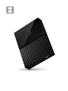 Western Digital My Passport 4TB Portable External Hard Drive - Black Best Price, Cheapest Prices