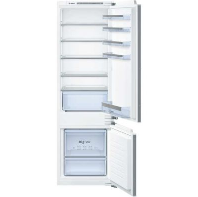 Bosch Serie 4 KIV87VF30G Integrated 70/30 Fridge Freezer with Fixed Door Fixing Kit - White - A++ Rated Best Price, Cheapest Prices
