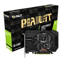 Palit GeForce GTX 1660 StormX 6GB GDDR5 VR Ready Graphics Card, 1408 Core, 1530MHz GPU, 1785MHz Boost Best Price, Cheapest Prices
