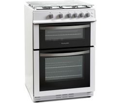 MONTPELLIER MDG600LW 60 cm Gas Cooker - White Best Price, Cheapest Prices