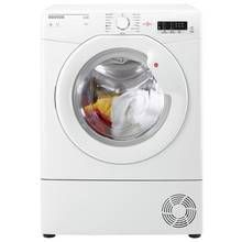 Hoover HLC8LG 8KG Condenser Tumble Dryer - White Best Price, Cheapest Prices