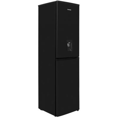 Hoover HFF195BWK 50/50 Frost Free Fridge Freezer - Black - A+ Rated Best Price, Cheapest Prices