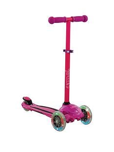 U Move U Flex LED Tilt Scooter – Pink Best Price, Cheapest Prices