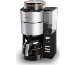 MELITTA AromaFresh Filter Coffee Machine - Black & Stainless Steel Best Price, Cheapest Prices