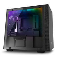 NZXT H200i, Black, Mini-ITX Computer Chassis, w/ Tempered Glass Window, Smart Control, Mini-ITX, 2x 120mm Fans, 2x USB3 Best Price, Cheapest Prices