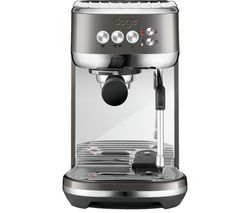 SAGE The Bambino Plus SES500BHY Coffee Machine - Smoked Hickory Best Price, Cheapest Prices