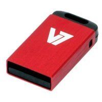 32GB V7 USB 2.0 Nano Flash Drive (Red) Best Price, Cheapest Prices