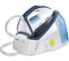 BOSCH Easy Comfort TDS6010GB Steam Generator Iron - White & Blue Best Price, Cheapest Prices