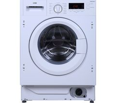 LOGIK LIW814W15 Integrated Washing Machine - White Best Price, Cheapest Prices