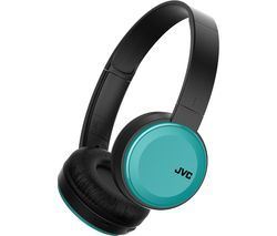 JVC HA-S30BT-A-E Wireless Bluetooth Headphones - Teal Best Price, Cheapest Prices