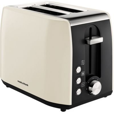 Morphy Richards Equip 222059 2 Slice Toaster - Cream Best Price, Cheapest Prices