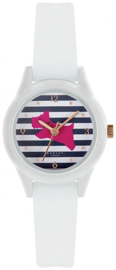 Radley Ladies Brown Silicone Strap Watch Best Price, Cheapest Prices